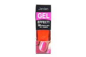 Лак д/ногтей Jerden Gel Effect №9 Mandarin 9мл