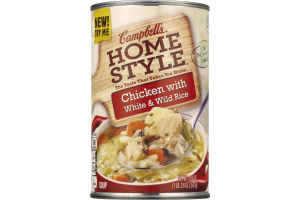 Campbell's Homestyle Soup Chicken with White & Wild Rice