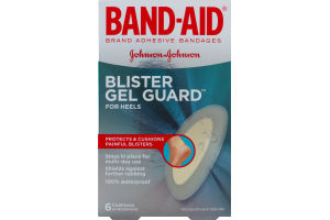 Band-Aid Adhesive Bandages Blister Gel Guard For Heels - 6 CT