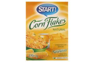 Start! кукурудзяні пластівці натуральні 270гр.