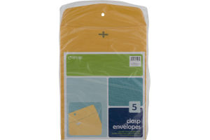 Top Flight Clasp Envelopes - 5 CT