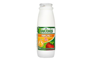 Напій кисломолочний Лактонія Imun Полуниця 1.5% 100г х6