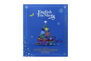 Чай English Tea Shop Blue Advent Book набор
