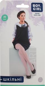 Колготи дитячі Boy&Girl Art 20den 116-122 white