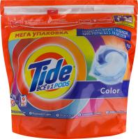 Засіб миючий синтетичний рідкий в розчинних капсулах Color Tide 60х22.8г