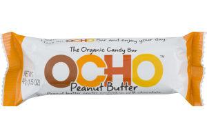 OCHO The Organic Candy Bar Peanut Butter