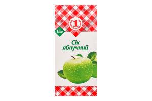 Сок Яблочный №1 т/п 1л