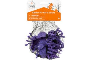 Smart Living Halloween Spider Yo-Yos - 9 CT