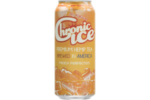 Chronic Ice Premium Hemp Tea Peach Perfection