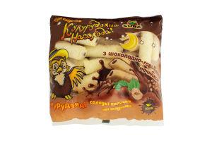 Палочки кукур Сова сладкие неглаз шокол-орех начин