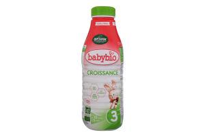 Суміш молочна рідка для дітей від 10міс Croissance 3 Babybio п/пл 1л