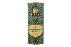 Чай зеленый китайский байховый крупнолистовой Moroccan Legend Traveller`s Collection Hyleys туб 50г