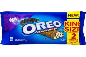 Milka Oreo Chocolate Candy Bar King Size - 2 CT