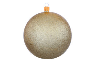 Прикраса новорічна 10см Куля пластикова Mislt 1шт