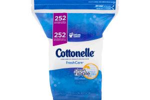 Cottonelle Flushable Cleansing Cloths Fresh Care - 252 CT