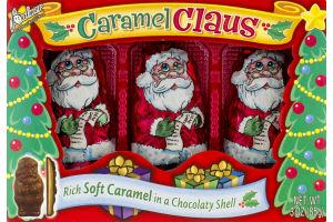 Palmer Soft Caramel in a Chocolaty Shell Santa Claus - 3 CT