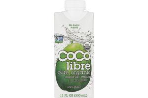 Coco Libre Pure Organic Coconut Water