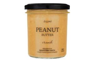 Паста арахисовая с натуральными кусочками Aumi с/б 300г