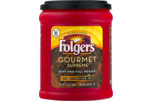 Folgers Gourmet Supreme Ground Coffee Dark