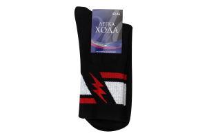 Шкарпетки чоловічі Легка хода №6347 29 чорний