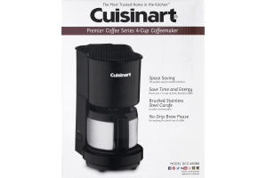 Cuisinart Premier Coffee Series 4-Cup Coffemaker