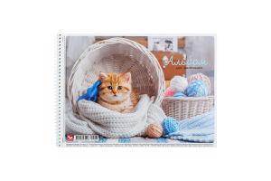 Альбом для рисования А4 20 листов №PB-SC-020-275 Школярик 1шт