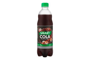 Напій безалкогольний соковмісний сильногазований Smart Сola Живчик п/пл 0.5л