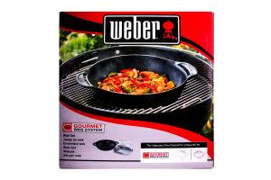 Сковорода Weber Gourmet BBQ ВОК с вст.пар чуг 8856