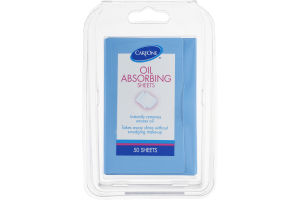 CareOne Oil Absorbing Sheets - 50 CT