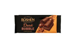Шоколад пористий Dark Bubble Roshen м/у 80г