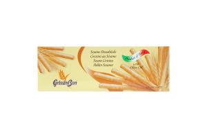 Палочки хлебные GrissinBon з кунжутом