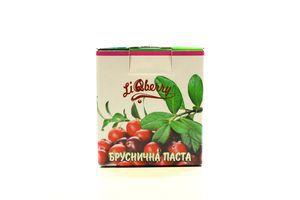 Паста LiQberry Бруснична с/б 550г х9