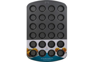 Smart Living 24 Cup Mini Muffin Pan