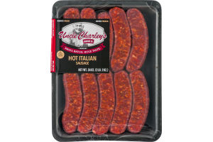 Uncle Charley's Sausage Co. Premium Hot Italian Sausage