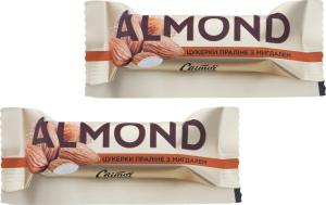 Конфеты пралине с миндалем Almond Світоч кг