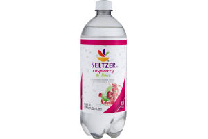 Ahold Flavored Seltzer Water Raspberry & Lime