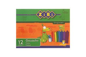 Краски гуашевые №ZB.6601 Zibi 1шт