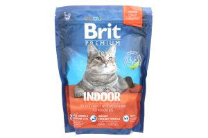 Корм Brit Premium д/котів що живуть у приміщенні 300г