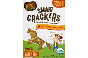 Bitsy's Brainfood Smart Crackers Sweet Potato Cinna-Graham