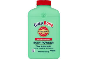 Gold Bond Baby Powder Extra Strength Medicated