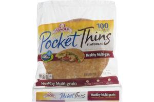 Brownberry Pocket Thins Flatbread 8 Grain - 8 CT