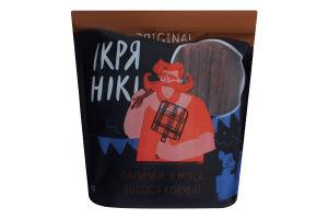 Палочки с мяса лосося копченые Original Ікрянікі кг