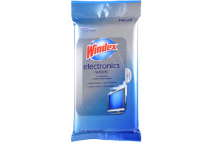 Windex Electronics Wipes - 25 PK