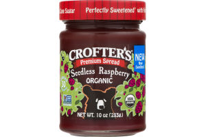 Crofter's Premium Spread Organic Raspberry