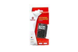 Калькулятор Optima електронний 75518