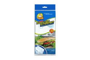 Пакети Фракен Бок паперові для бутербродів 30шт