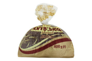 Хлеб заварной половинка в нарезке Юрьевский Цархліб м/у 0.4кг