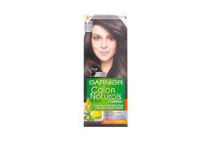 Крем-краска для волос стойкая №4.00 Creme Color Naturals Garnier