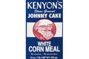 Kenyon's Stone Ground Johnny Cake White Corn Meal