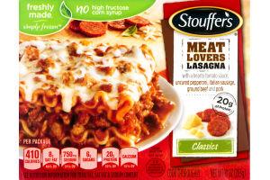 Stouffer's Classics Meat Lovers Lasagna